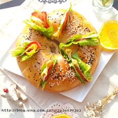 中种版花型汉堡