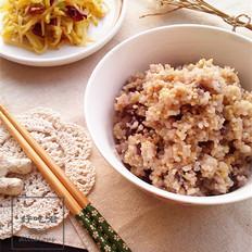 红豆小米饭&酸辣土豆丝