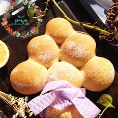 圣诞树圆形面包