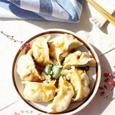 白菜虾仁水饺