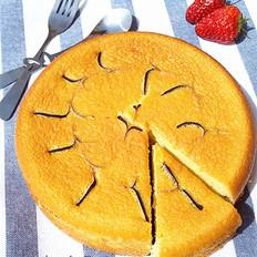 拉花海绵蛋糕
