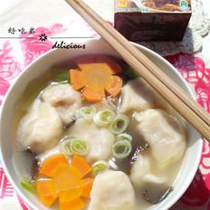 牛肉饺子汤