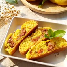 鲜肉榨菜金面包