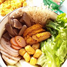 咖喱浓汤火锅