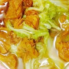 排骨汤炖猴头菇