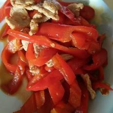 红辣椒炒瘦肉