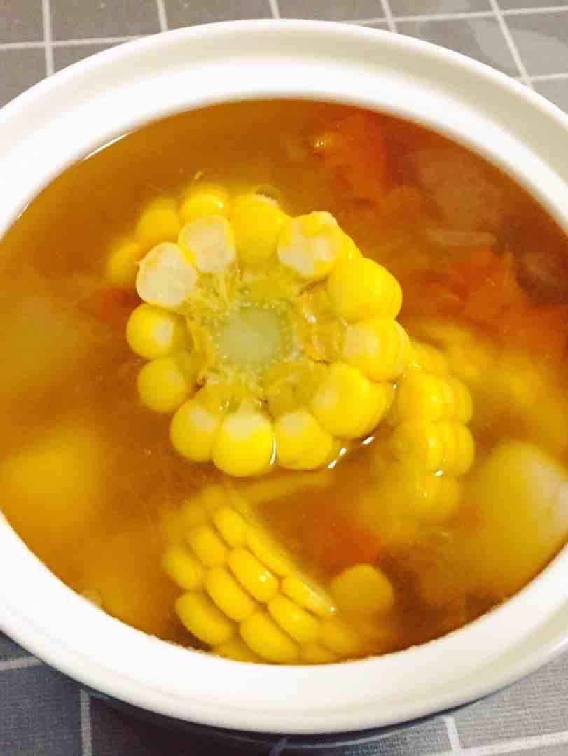 玉米山药汤的做法大全
