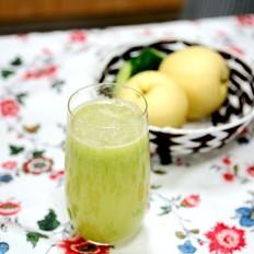 香瓜雪梨汁