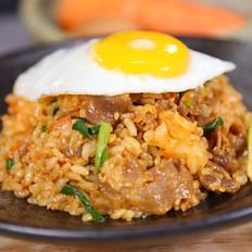 肥牛糙米饭