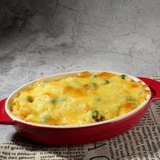 奶酪焗土豆泥