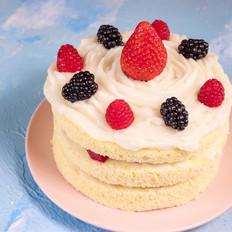 宝宝版本的生日蛋糕(无奶油)