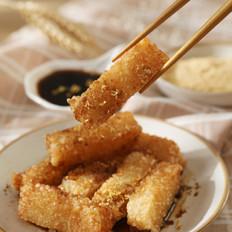 外脆内糯的小食,咬一口,暖到心里去——红糖糍粑