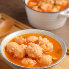 番茄虾滑【孔老师教做菜】