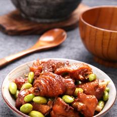 毛豆烧鸡【孔老师教做菜】