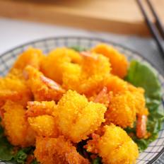 酥脆炸虾【孔老师教做菜】