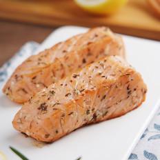 不敢吃生三文鱼,试试这样蒜香味美的做法——蒜香煎三文鱼