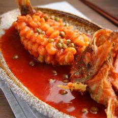 松鼠鳜鱼【孔老师教做菜】