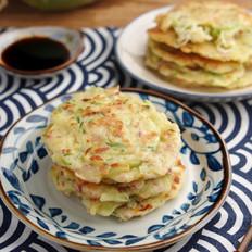 萝卜丝培根饼【孔老师教做菜】