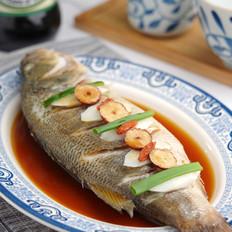 山药枸杞蒸鲈鱼【孔老师教做菜】