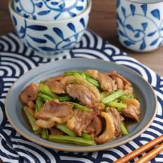 芹菜炒鸭肉【孔老师教做菜】