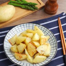 黑椒味薯角 【孔老师教做菜】