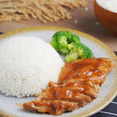 至少两碗米饭打底,越吃越过瘾 ——照烧鸡腿饭