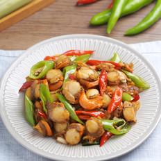 集鲜美与下饭于一体的海鲜小炒——爆炒扇贝肉