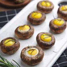 香烤口蘑鹌鹑蛋
