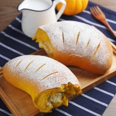 南瓜奶酪软欧包的做法