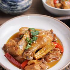 腐竹燉雞的做法