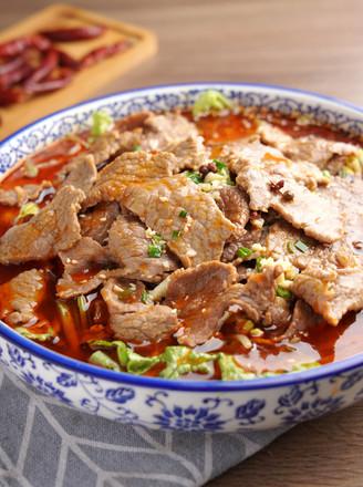 水煮牛肉【孔老师教做菜】的做法