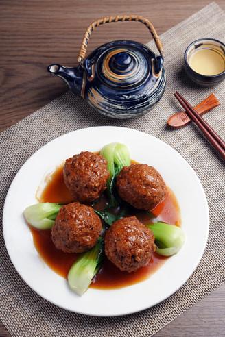 四喜丸子【孔老师教做菜】的做法