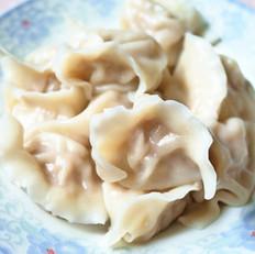猪肉白菜虾仁水饺