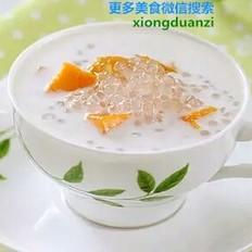 美味椰奶芒果西米露