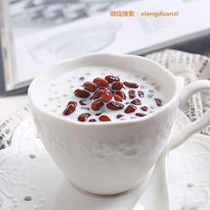 红豆牛奶西米露