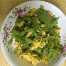 鸡蛋炒苦瓜