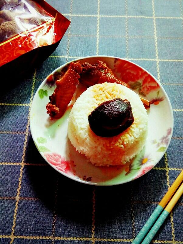 香菇鸡套饭