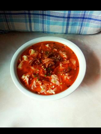 紅油榨菜餛飩的做法
