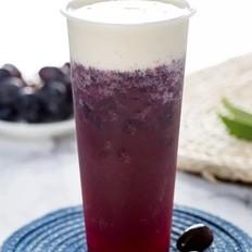 新品紫葡萄雪绒吸掉一整个夏天,奶茶控必打卡!