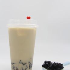 自制︱仙草奶茶
