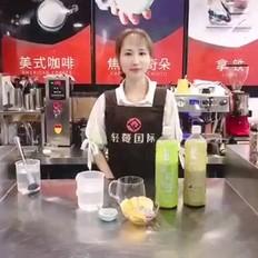 自制 桃气茉莉果茶
