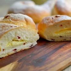 蔓越莓奶酪软欧包