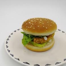 汉堡︱流心鸡排汉堡包