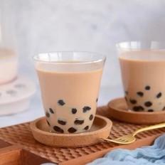 自制   珍珠奶茶