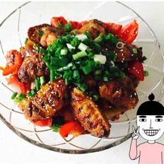 干锅土豆片鸡翅