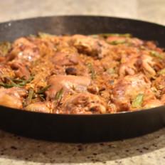 西班牙烩饭Paella de Valencia|约翰的小厨房