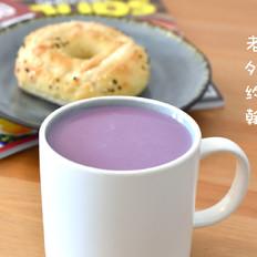 梦幻香芋紫薯热奶昔 约翰的小厨房