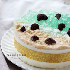 海洋酸奶慕斯蛋糕(6寸)