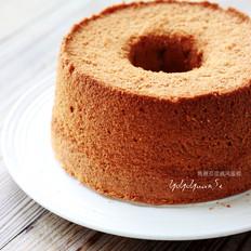 焦糖豆浆戚风蛋糕