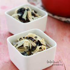 金针菇紫菜汤